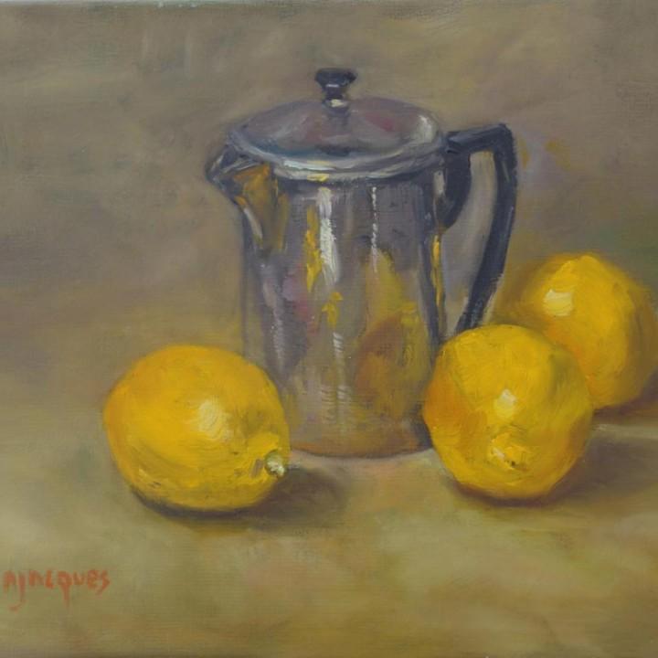 Pot et citrons
