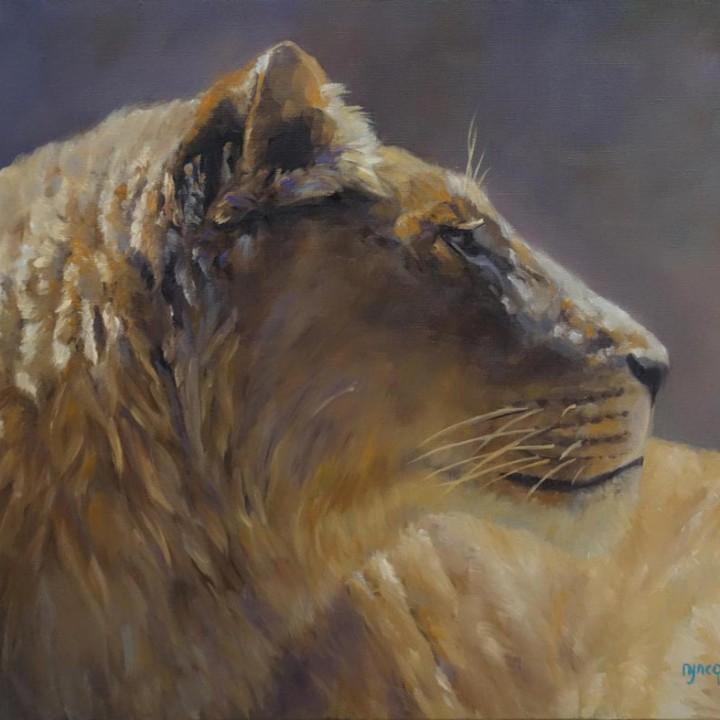 Portrait Lionne