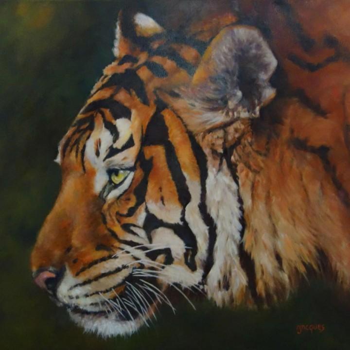 Portrait Tigre