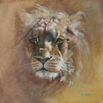 Portrait Lion